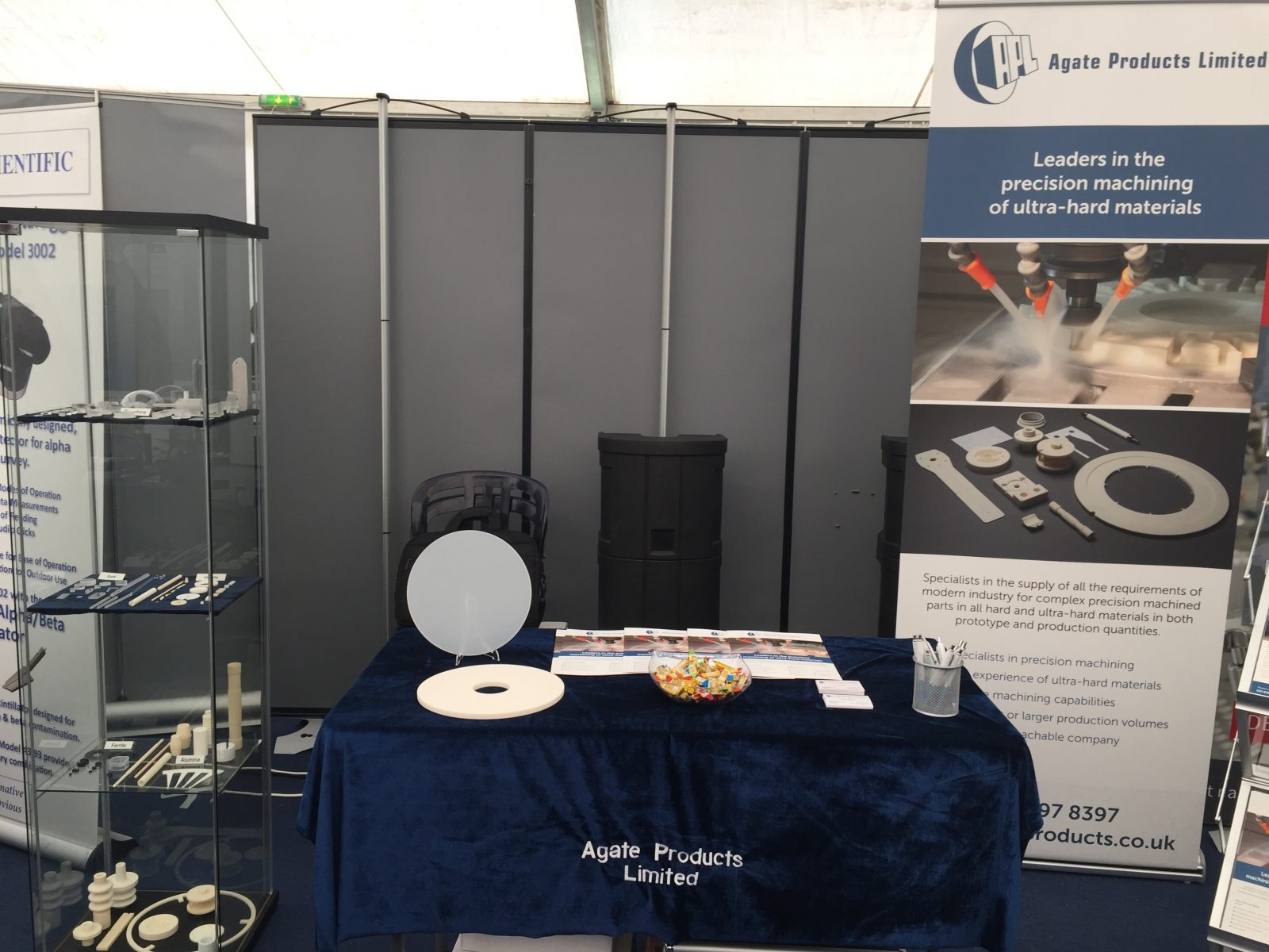 Agate Products Ltd exhibits at Rutherford Appleton Laboratory
