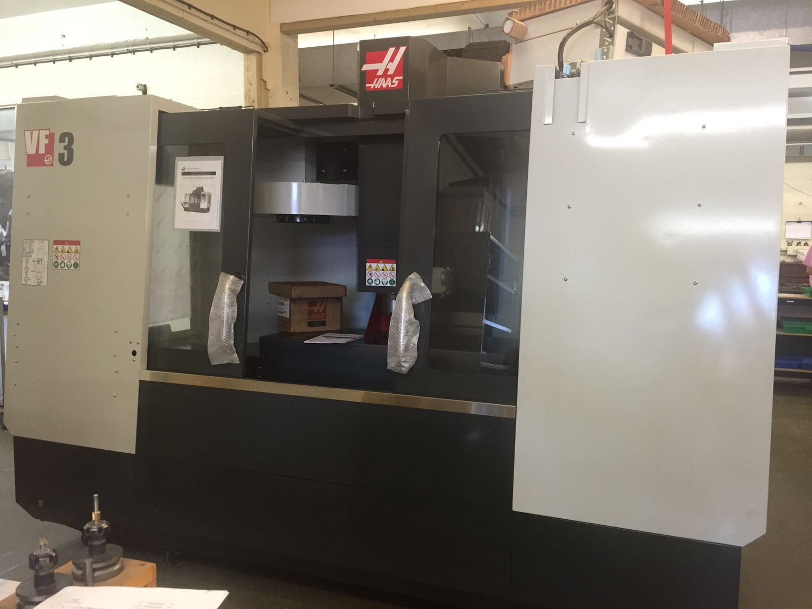 Newest CNC machine at Agate Products